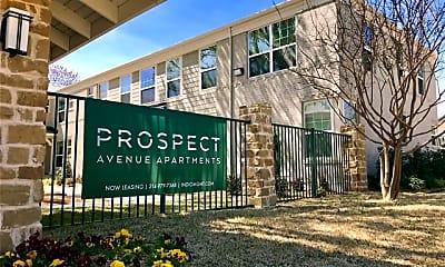 Community Signage, 6304 Prospect Ave 106, 2