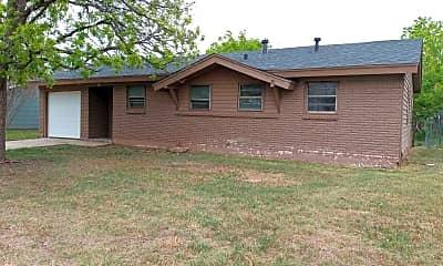 Building, 509 N Crockett St, 1
