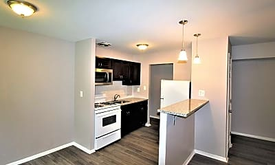 Kitchen, St. Georges Apartments, 0