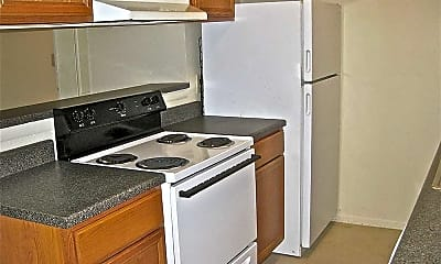 Kitchen, Pebble Creek Apartments, 2