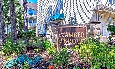 Community Signage, Amber Grove, 2