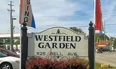 Community Signage, Westfield Gardens, 1