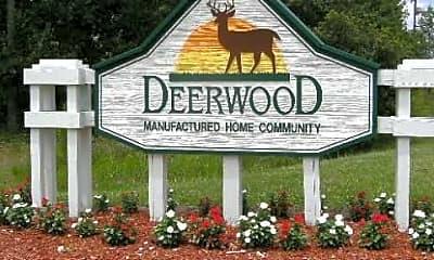 Community Signage, Deerwood, 1