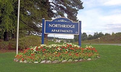 Community Signage, Northridge, 1