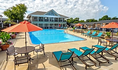 Pool, Carolina Apartments, 2
