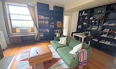 Living Room, 457 W 141st St 3, 1