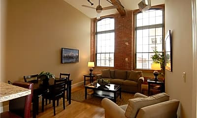 Living Room, 411 Valley St 22, 1