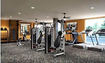 Fitness Weight Room, Aspen Heights Wichita, 0