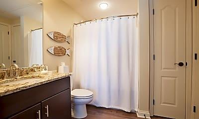 Bathroom, Chandler Park Apartments, 2