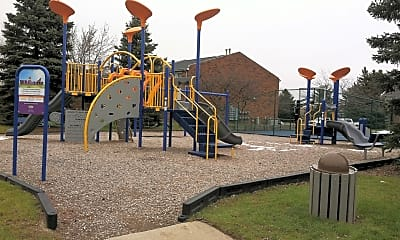 Playground, Hickory Square Apartments, 1