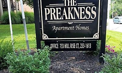 Preakness I Apartments, 1