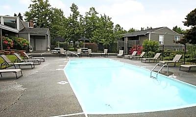 Pool, Meridian West Apartments, 0