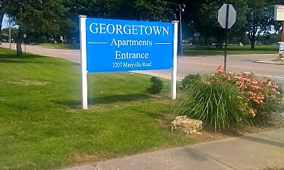 Georgetown Apartment, 1