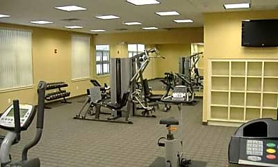 Fitness Weight Room, Blair Mill Village East, 1