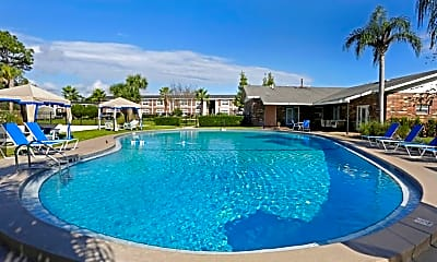 Pool, Sea Oats Apartments, 1