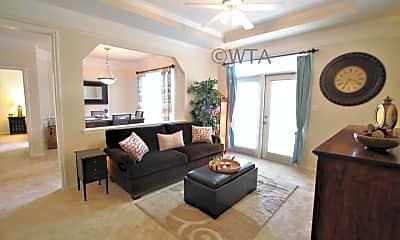 Living Room, 4701 Monterrey Oaks Blvd, 1