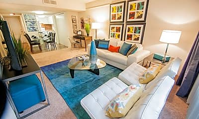 Living Room, Lake Towers Apartments, 0