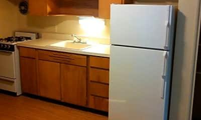 Kitchen, Brockway Court Apartments, 2