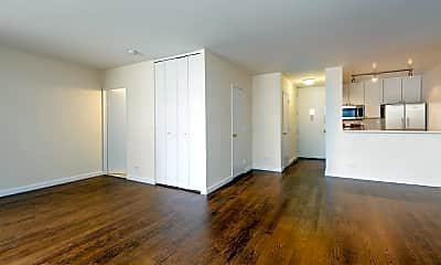 Living Room, 240 E 44th St, 1