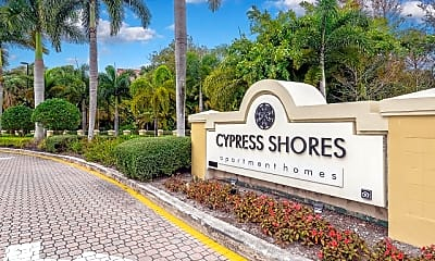 Community Signage, Cypress Shores, 2