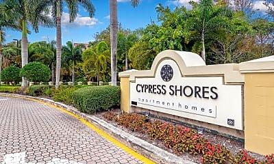 Community Signage, Cypress Shores, 2