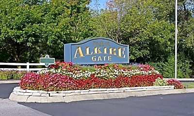 Community Signage, Alkire Gate Apartments, 2