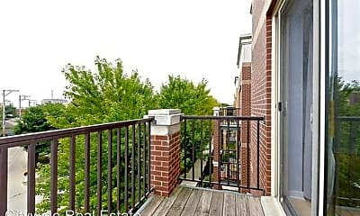 Patio / Deck, 1110 W Washburne Ave, 2