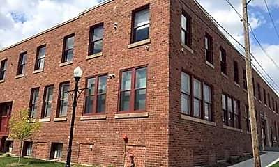 Building, Crescent Loft Apartments, 1
