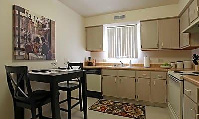 Kitchen, Foxmoor Apartments, 0