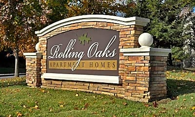 Community Signage, Rolling Oaks Apartment Homes, 0