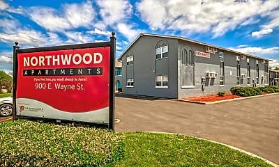 Community Signage, Northwood Apartments, 2
