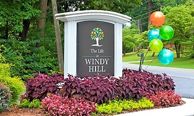 Community Signage, The Life at Windy Hill, 2