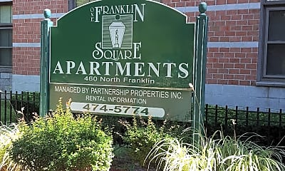 One Franklin Square Apartments, 1