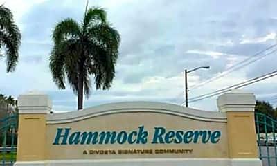 Community Signage, 4689 Hammock Cir, 2