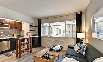 Living Room, 3801 Connecticut Avenue, 0