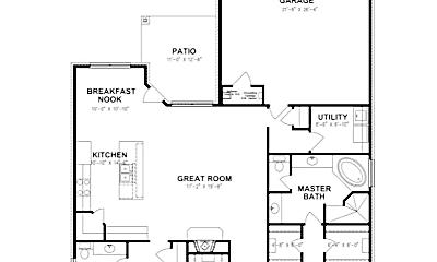 Bedroom, 1314 Solomon Ln, 2