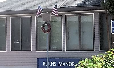 Burns Manor, 1