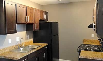 Kitchen, Driftwood Apartments, 0