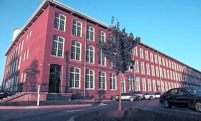 Building, Drayton Mills Loft Apartments, 1