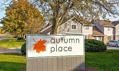 Community Signage, Autumn Place, 2