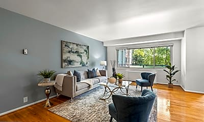 Living Room, 4201 Cathedral Ave NW 421W, 0