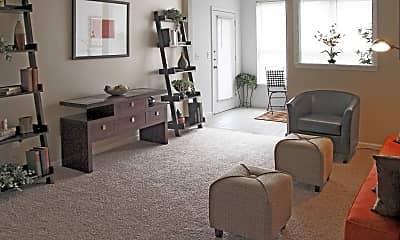 Living Room, Trellises, 1