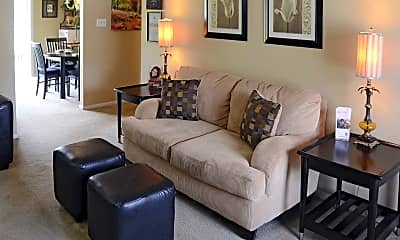 Living Room, Village 2 Apartments, 0
