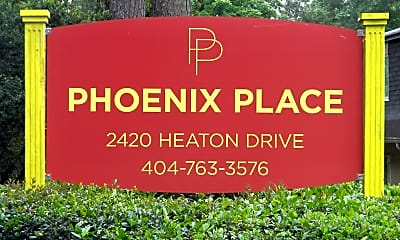 Community Signage, Phoenix Place Apartments, 0