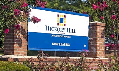 Community Signage, Hickory Hill Apartments, 0