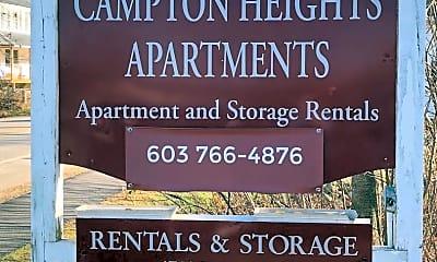 Community Signage, 1333 New Hampshire Rte 175, 1