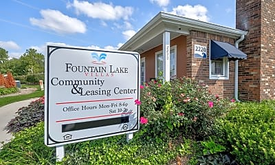 Community Signage, Fountain Lake Villas, 2