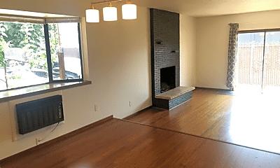 Living Room, 407 SE 88th Ave, 0