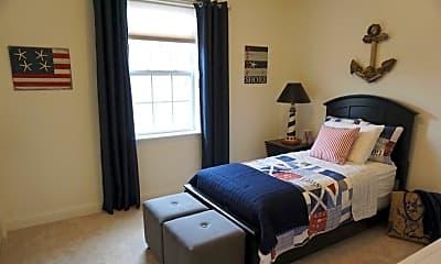 Bedroom, Parkside Village, 1