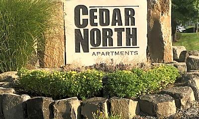 Cedar North Apartments, 1